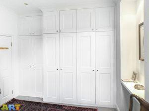 12 Shaker style with beading doors Wardrobe.