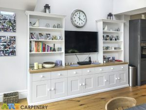 TV cabinets with bookshelves