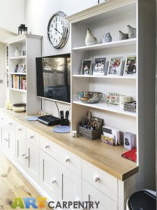 Free standing TV cabinets with bookshelves