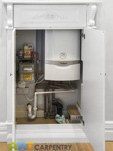 Gas meter and boiler wardrobe
