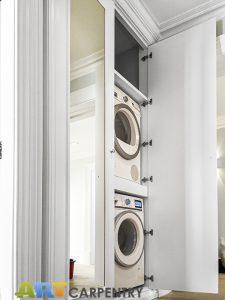 Laundry and fuse board wardrobe