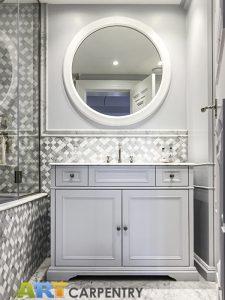 Vanity units - sink cabinet and bathroom wardrobe