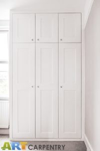 Shaker style doors fitted wardrobe