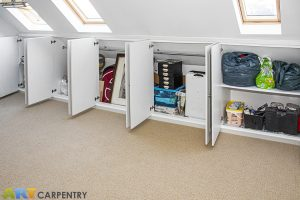 10 doors loft cabinets